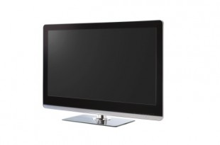 Full HD Led Television with clipping path
