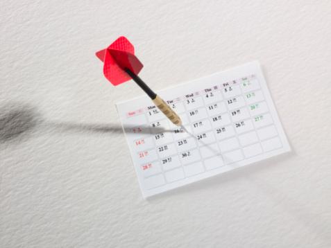 Darts in Calendar
