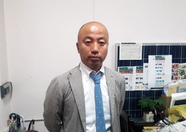 大石代表取締役